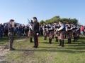"""""""Salut to the Chieftain"""" mit dem Lied Highland Laddie - Ehrenbezeugung der Band an den Veranstalter Fridolin Heckmann"""