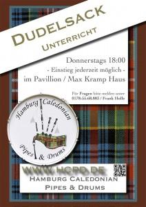 Dudelsackunterricht in Duvenstedt